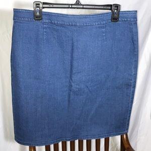 Super Buy! Vince Camuto Denim Skirt